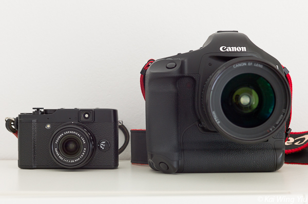 Fujifilm X10 vs Canon 1D Mark III